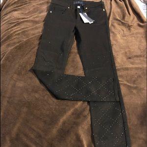 "Juicy Couture Black Jeans 25"" x 28"" Size 1."